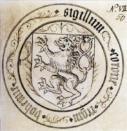 The seal of the Kingdom of Bohemia in 1432